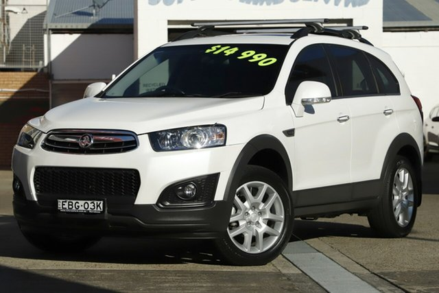 Used Holden Captiva 7 LS Active (FWD), Brookvale, 2015 Holden Captiva 7 LS Active (FWD) Wagon