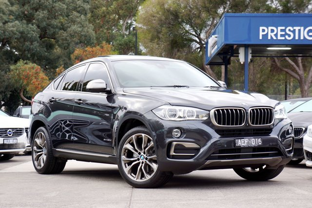 Used BMW X6 xDrive30d Coupe Steptronic, Balwyn, 2015 BMW X6 xDrive30d Coupe Steptronic Wagon
