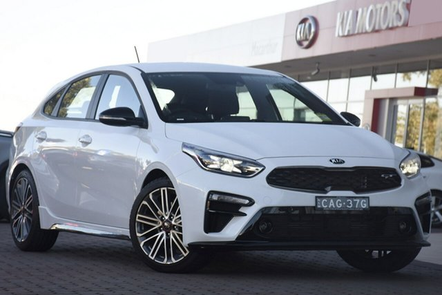 Discounted Demonstrator, Demo, Near New Kia Cerato GT DCT, Narellan, 2019 Kia Cerato GT DCT Hatchback