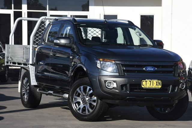 Used Ford Ranger Wildtrak Double Cab, Warwick Farm, 2015 Ford Ranger Wildtrak Double Cab Utility