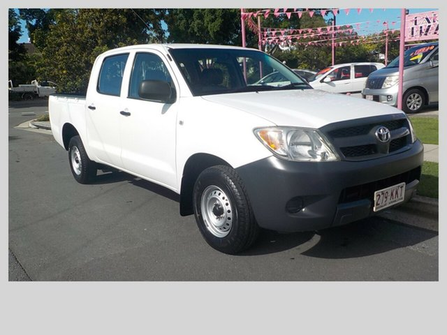 Used Toyota Hilux Workmate, Margate, 2007 Toyota Hilux Workmate Dual Cab