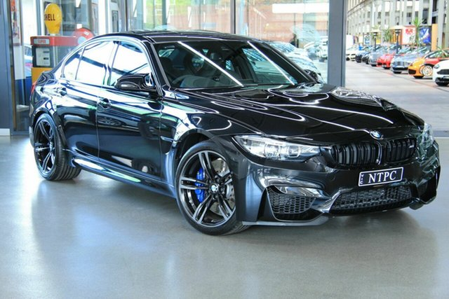 Used BMW M3 Pure M-DCT, North Melbourne, 2018 BMW M3 Pure M-DCT Sedan