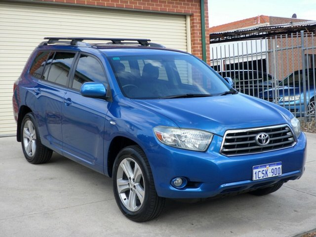Used Toyota Kluger KX-S AWD, Mount Lawley, 2007 Toyota Kluger KX-S AWD Wagon