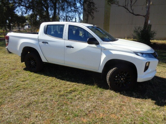 Demonstrator, Demo, Near New Mitsubishi Triton GLX Double Cab ADAS, Nailsworth, 2018 Mitsubishi Triton GLX Double Cab ADAS Utility