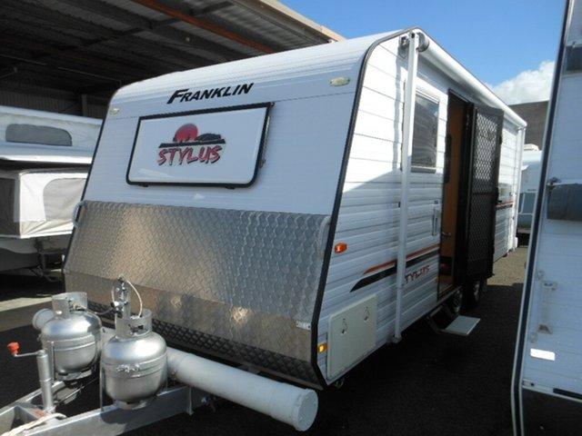 Used Franklin Stylus 20', Pialba, 2013 Franklin Stylus 20' Caravan