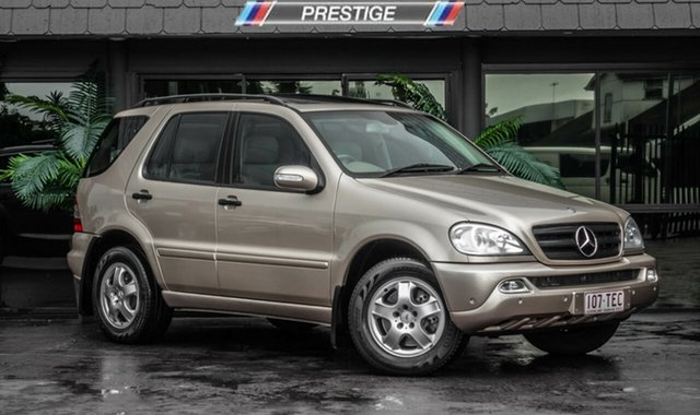 Used Mercedes-Benz ML350 Luxury (4x4), Bowen Hills, 2003 Mercedes-Benz ML350 Luxury (4x4) Wagon