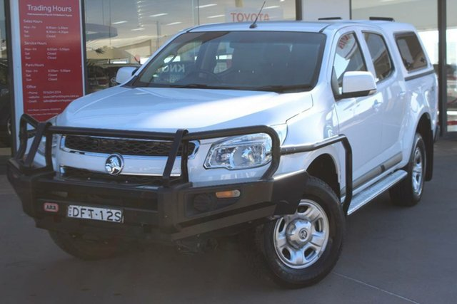 Used Holden Colorado LS (4x4), Southport, 2016 Holden Colorado LS (4x4) Crew Cab Pickup