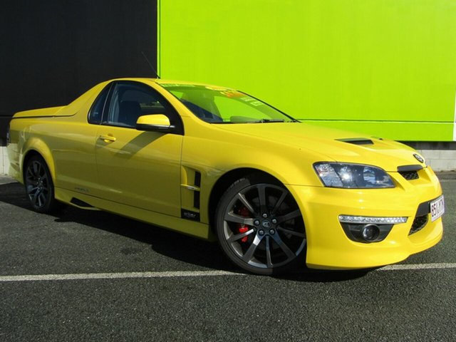 Used Holden Special Vehicles Maloo R8 (Dual Fuel), Underwood, 2011 Holden Special Vehicles Maloo R8 (Dual Fuel) Utility