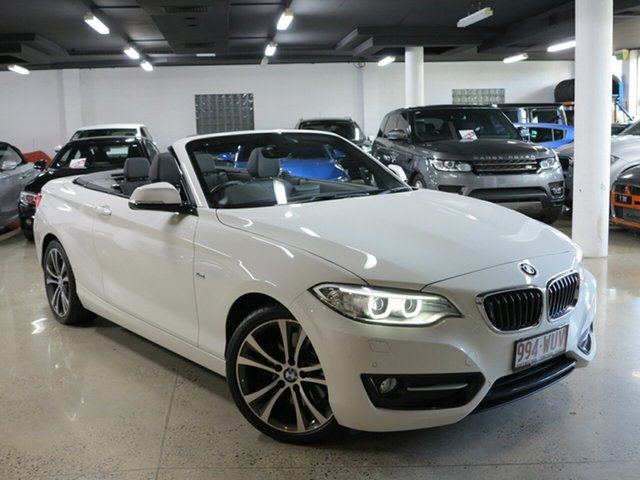 Used BMW 228i Sport Line, Albion, 2016 BMW 228i Sport Line Convertible
