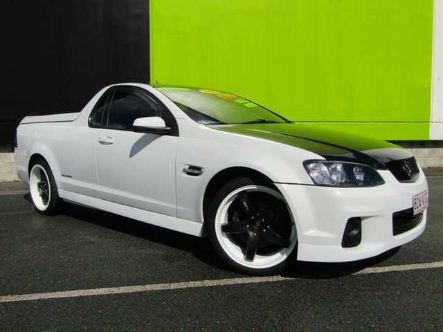 Used Holden Commodore SV6 Thunder, Underwood, 2012 Holden Commodore SV6 Thunder Utility
