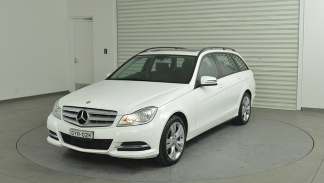 Used Mercedes-Benz C200 BlueEFFICIENCY Estate 7G-Tronic +, Narellan, 2013 Mercedes-Benz C200 BlueEFFICIENCY Estate 7G-Tronic + Wagon
