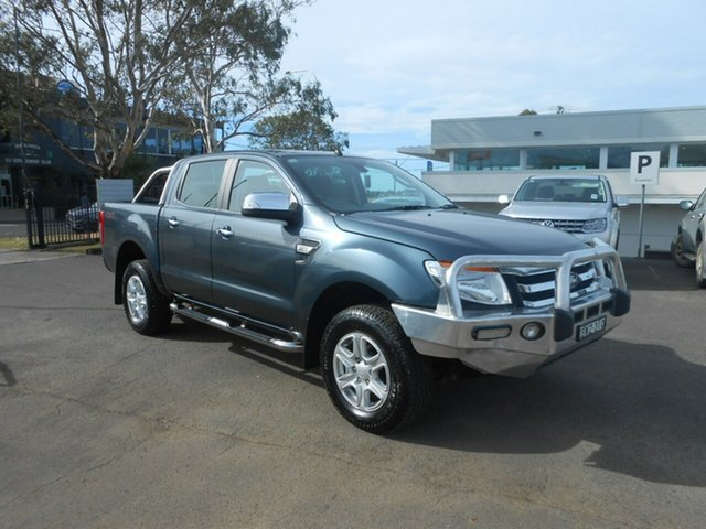 Used Ford Ranger XLT Double Cab, Nowra, 2011 Ford Ranger XLT Double Cab Utility