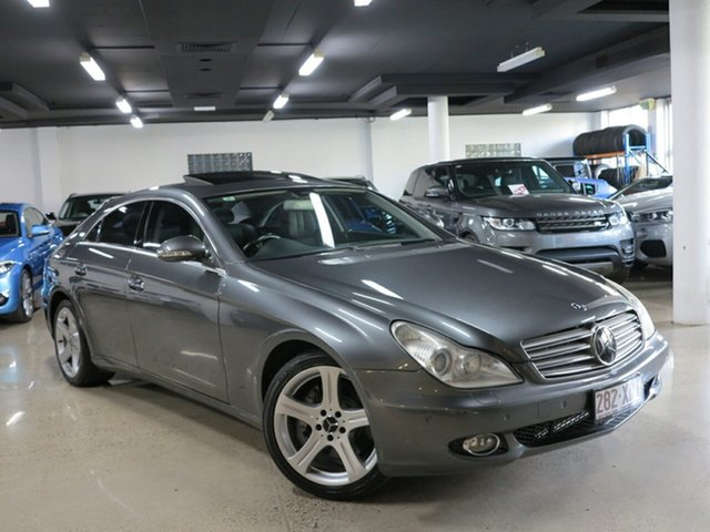 Used Mercedes-Benz CLS500 Coupe, Albion, 2007 Mercedes-Benz CLS500 Coupe Sedan