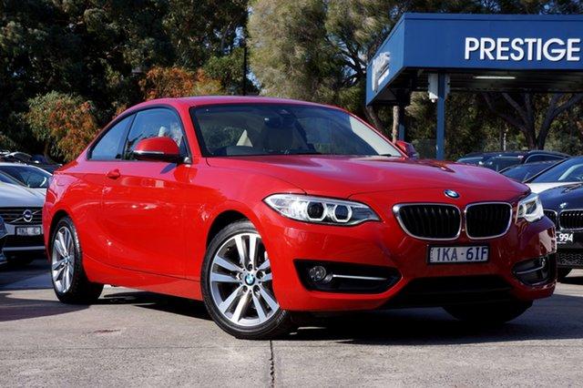Used BMW 220i Sport Line, Balwyn, 2017 BMW 220i Sport Line Coupe