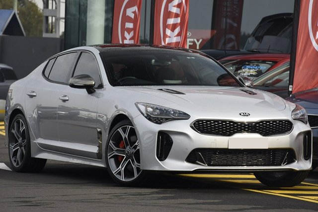 Discounted Demonstrator, Demo, Near New Kia Stinger GT Fastback, Narellan, 2018 Kia Stinger GT Fastback Sedan
