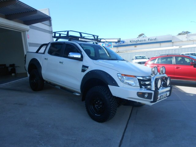 Used Ford Ranger XLT Double Cab, Nowra, 2014 Ford Ranger XLT Double Cab Utility