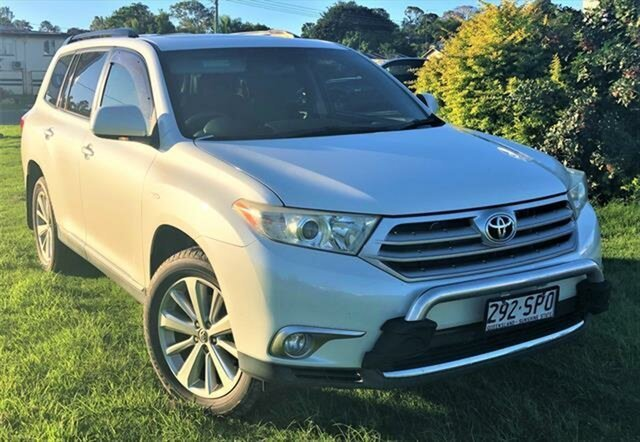 Used Toyota Kluger Altitude AWD, Gympie, 2012 Toyota Kluger Altitude AWD Wagon