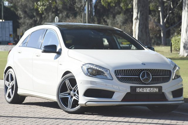 Discounted Used Mercedes-Benz A250 Sport D-CT, Narellan, 2013 Mercedes-Benz A250 Sport D-CT Hatchback