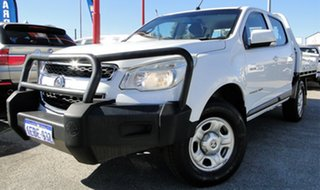 2012 Holden Colorado LX Crew Cab Cab Chassis.