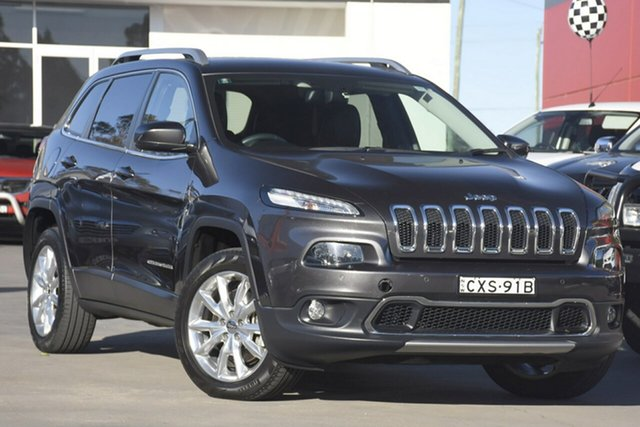 Used Jeep Cherokee Limited, Warwick Farm, 2015 Jeep Cherokee Limited SUV