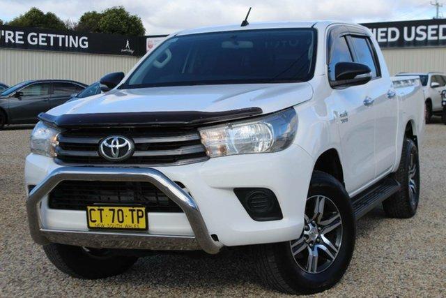 Used Toyota Hilux SR (4x4), Bathurst, 2016 Toyota Hilux SR (4x4) Dual Cab Utility