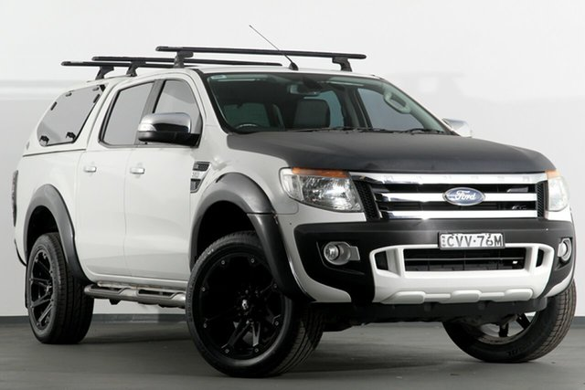 Used Ford Ranger XLT Double Cab 4x2 Hi-Rider, Campbelltown, 2014 Ford Ranger XLT Double Cab 4x2 Hi-Rider Utility