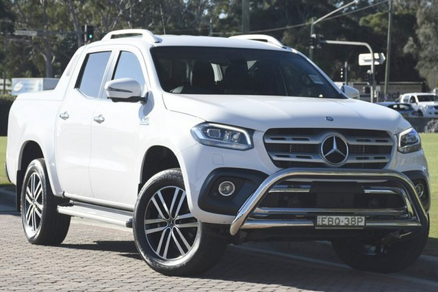 Discounted Demonstrator, Demo, Near New Mercedes-Benz X-Class X350d 7G-Tronic + 4MATIC Power, Narellan, 2018 Mercedes-Benz X-Class X350d 7G-Tronic + 4MATIC Power Utility