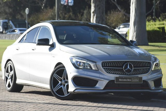 Discounted Used Mercedes-Benz CLA250 Sport DCT 4MATIC, Warwick Farm, 2015 Mercedes-Benz CLA250 Sport DCT 4MATIC Coupe