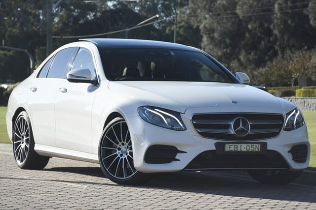 Discounted Used Mercedes-Benz E200 9G-Tronic PLUS, Narellan, 2016 Mercedes-Benz E200 9G-Tronic PLUS Sedan