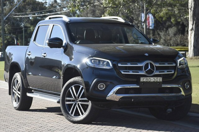Discounted Demonstrator, Demo, Near New Mercedes-Benz X-Class X250d 4MATIC Power, Narellan, 2017 Mercedes-Benz X-Class X250d 4MATIC Power Utility