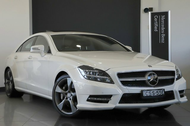 Used Mercedes-Benz CLS500 Avantgarde Coupe 7G-Tronic + 10 Edition, Narellan, 2014 Mercedes-Benz CLS500 Avantgarde Coupe 7G-Tronic + 10 Edition Sedan