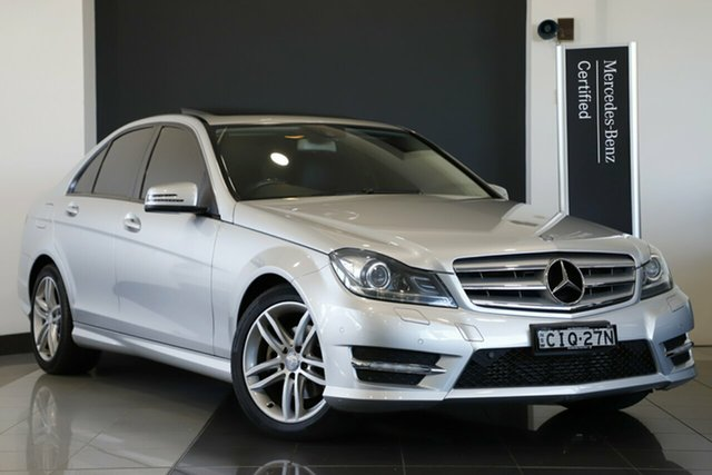 Used Mercedes-Benz C200 BlueEFFICIENCY 7G-Tronic +, Narellan, 2012 Mercedes-Benz C200 BlueEFFICIENCY 7G-Tronic + Sedan