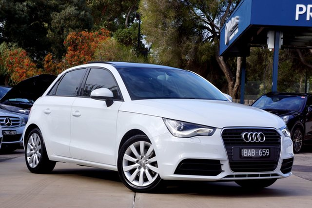 Used Audi A1 Attraction Sportback S Tronic, Balwyn, 2015 Audi A1 Attraction Sportback S Tronic Hatchback