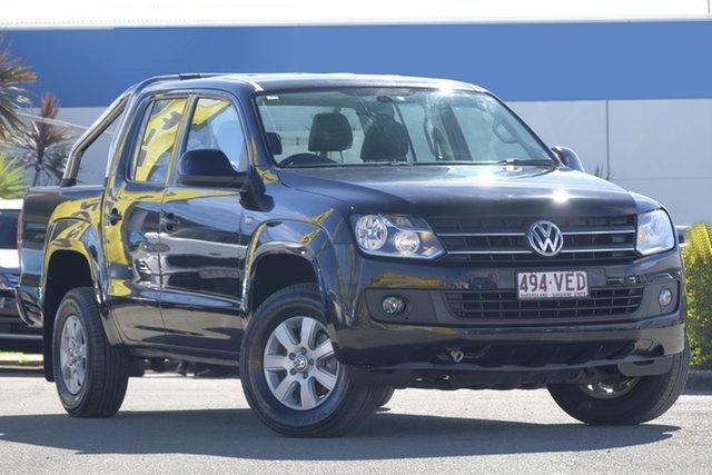 Used Volkswagen Amarok TDI400 4Mot Trendline, Bowen Hills, 2013 Volkswagen Amarok TDI400 4Mot Trendline Utility