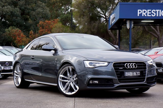 Used Audi A5 S Tronic Quattro, Balwyn, 2015 Audi A5 S Tronic Quattro Coupe