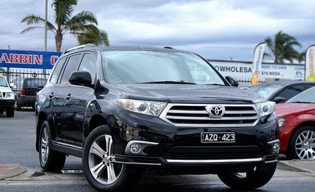 Used Toyota Kluger KX-S 2WD, Cheltenham, 2011 Toyota Kluger KX-S 2WD Wagon