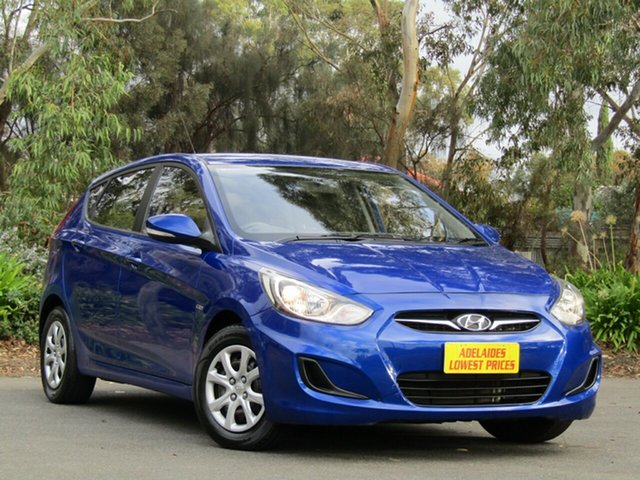Used Hyundai Accent Active, Enfield, 2011 Hyundai Accent Active Hatchback