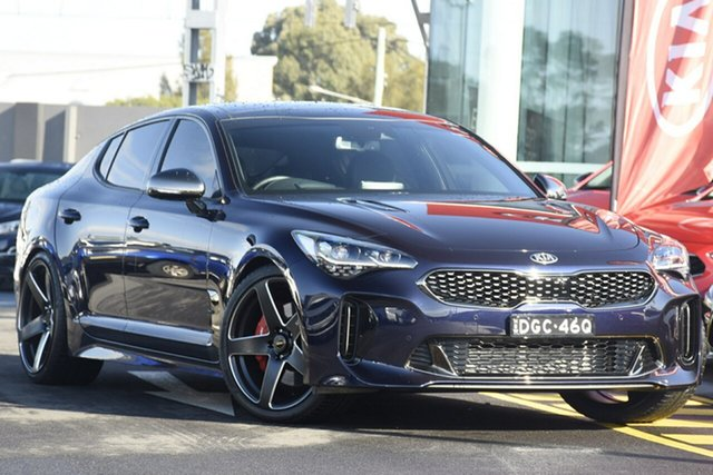Demonstrator, Demo, Near New Kia Stinger GT Fastback, Warwick Farm, 2018 Kia Stinger GT Fastback Sedan