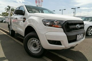 Used Ford Ranger XL Double Cab 4x2 Hi-Rider, Oakleigh, 2015 Ford Ranger XL Double Cab 4x2 Hi-Rider PX MkII Cab Chassis
