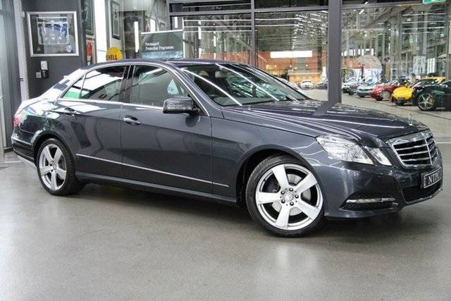Used Mercedes-Benz E350 BlueEFFICIENCY 7G-Tronic + Avantgarde, North Melbourne, 2011 Mercedes-Benz E350 BlueEFFICIENCY 7G-Tronic + Avantgarde Sedan