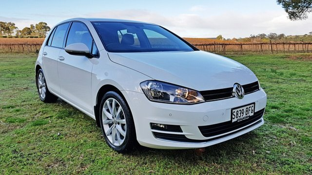 Used Volkswagen Golf 110TDI DSG Highline, Tanunda, 2014 Volkswagen Golf 110TDI DSG Highline Hatchback