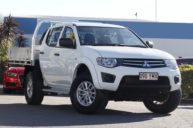 Used Mitsubishi Triton GLX Double Cab, Bowen Hills, 2014 Mitsubishi Triton GLX Double Cab Utility