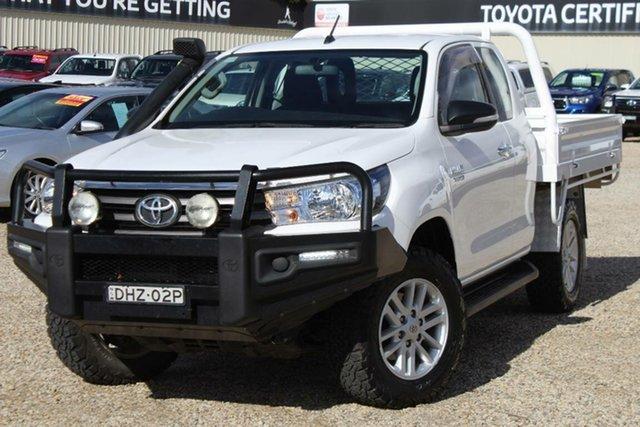 Used Toyota Hilux SR (4x4), Narellan, 2016 Toyota Hilux SR (4x4) X Cab Utility