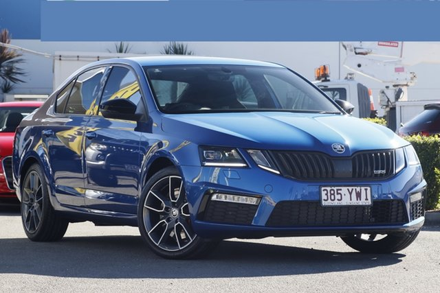 Used Skoda Octavia RS Sedan 169TSI, Bowen Hills, 2018 Skoda Octavia RS Sedan 169TSI Liftback
