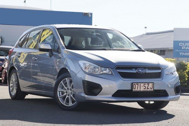 Used Subaru Impreza 2.0i Lineartronic AWD, Bowen Hills, 2013 Subaru Impreza 2.0i Lineartronic AWD Hatchback