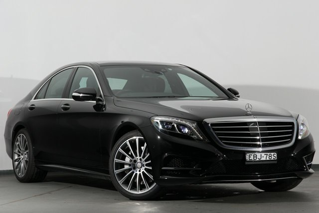 Used Mercedes-Benz S350 BlueTEC 7G-Tronic +, Warwick Farm, 2015 Mercedes-Benz S350 BlueTEC 7G-Tronic + Sedan