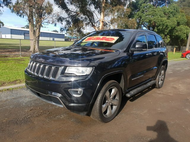 Used Jeep Grand Cherokee Overland, Cranbourne, 2013 Jeep Grand Cherokee Overland Wagon