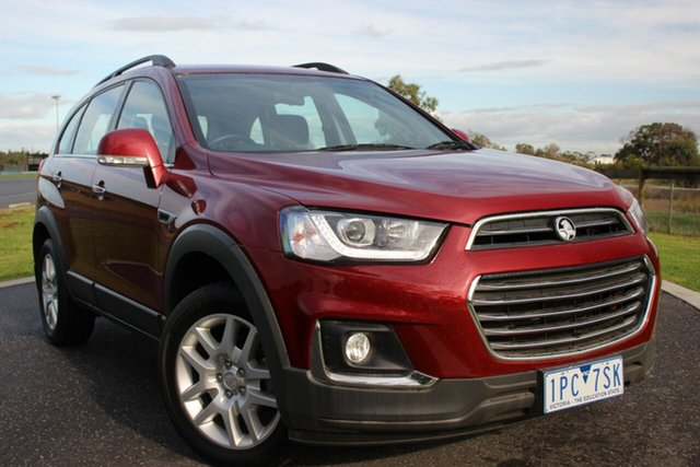Used Holden Captiva Active 2WD, Officer, 2017 Holden Captiva Active 2WD Wagon