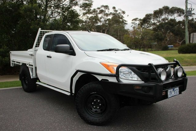 Used Mazda BT-50 XT Freestyle, Officer, 2013 Mazda BT-50 XT Freestyle Cab Chassis