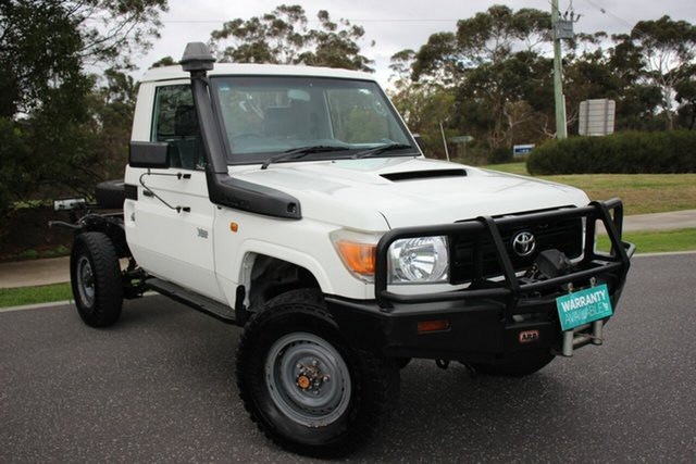 Used Toyota Landcruiser Workmate, Officer, 2012 Toyota Landcruiser Workmate Cab Chassis